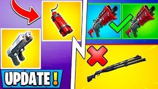 *ALL* Fortnite 9.30 Changes!   Big Shotgun Update, RIP Explosives, New Islands!