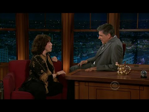 Late Late Show with Craig Ferguson 10/3/2011 Lily Tomlin, Io