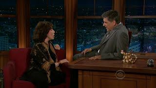 Late Late Show with Craig Ferguson 10/3/2011 Lily Tomlin, Ioan Gruffudd