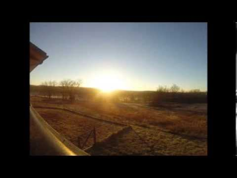 Missouri Sunrise Time Lapse 122713 Youtube