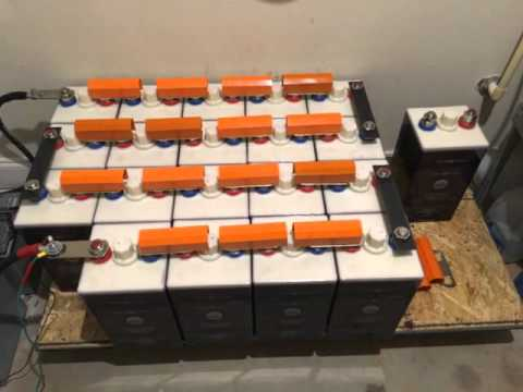 DIY Home Power – Nickel Iron Batteries for Solar