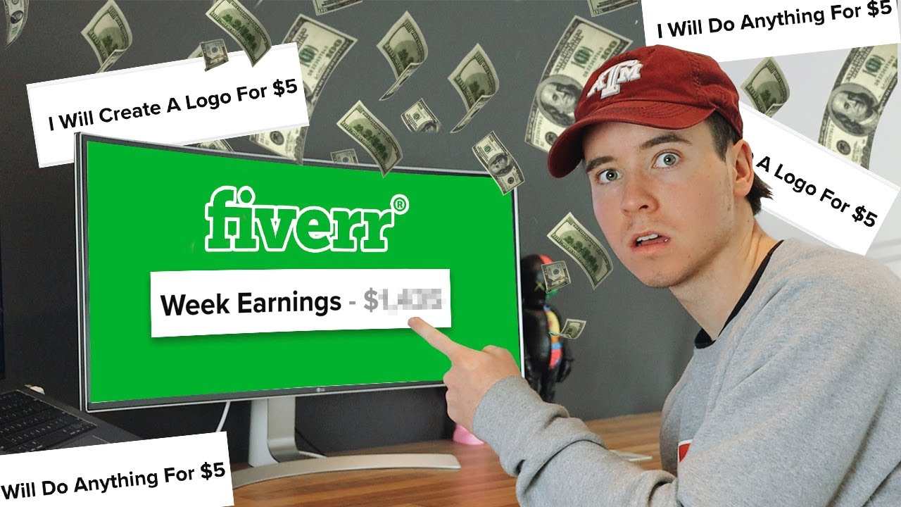 I Tried Making Money on Fiverr For A Week