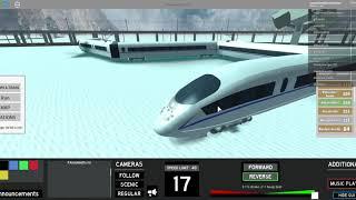 ROBLOX - TERMINAL RAILWAYS - That CRH near Rozlyn Debot