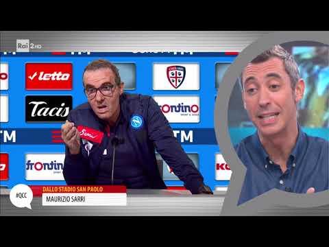 Maurizio Sarri contro i poteri forti - Quelli che il calcio 01/10/2017