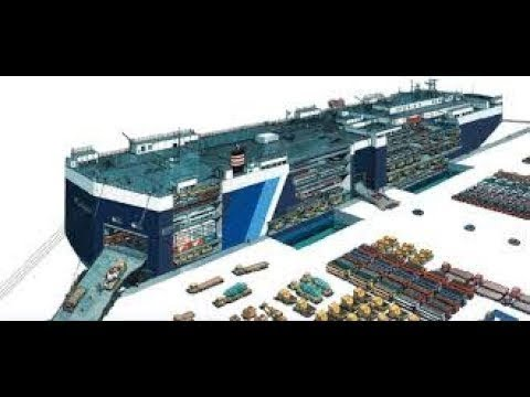 Inside Ro Ro Ship - Documentary
