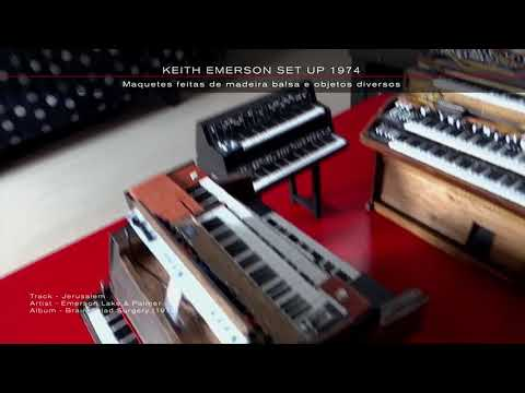 KEITH EMERSON´S SET UP 1974 - CLASSIC HANDMADE PROG KEYBOARDS
