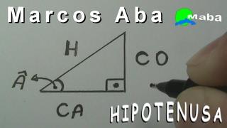 ENCONTRAR A HIPOTENUSA - Em apenas 3 minutos (Trigonometria)