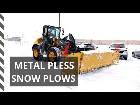 RDO Equipment Co. Offers MetalPless Snow Plows For Snow Removal