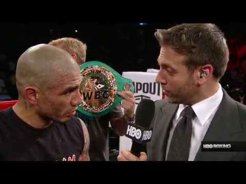 Miguel Cotto's Post-Fight Interview