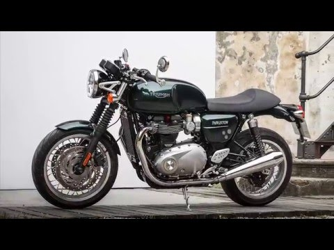 2016 Triumph Thruxton Will Be Offered In Jet Black Youtube