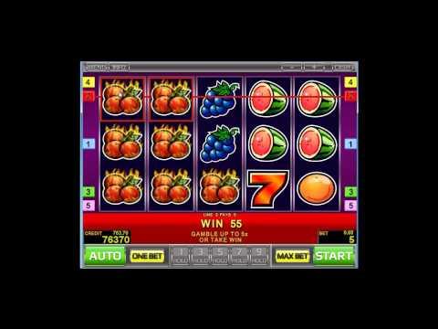 Sizzling Hot deluxe (Сизлинг Хот) - видео обзор игрового автомата