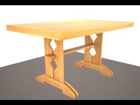 видео: Кухонный стол своими руками