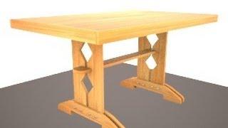Кухонный стол своими руками(, 2013-09-01T15:54:12.000Z)