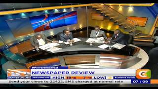 Power Breakfast: Newspaper review: Who will save Wetangula?