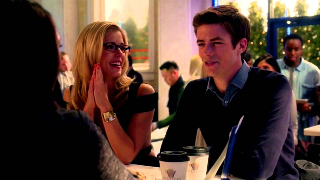 felicity smoak and barry allen | electropop - YouTube