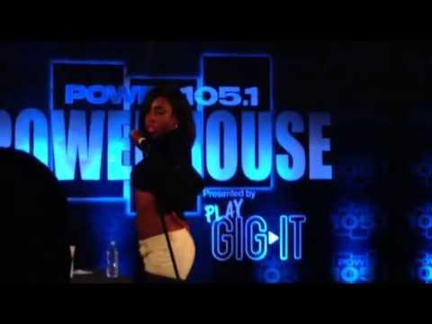 Sevyn Aaliyah tribute come over powerhouse
