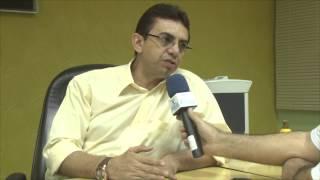 Prefeito Nilson Freitas fala do salário dos servidores e obras iniciadas em palhano