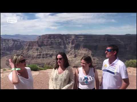 Familia del país Vaco en el Gran Cañón