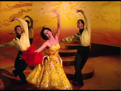 Cyd Charisse 1953 The Band Wagon New Sun in the Sky