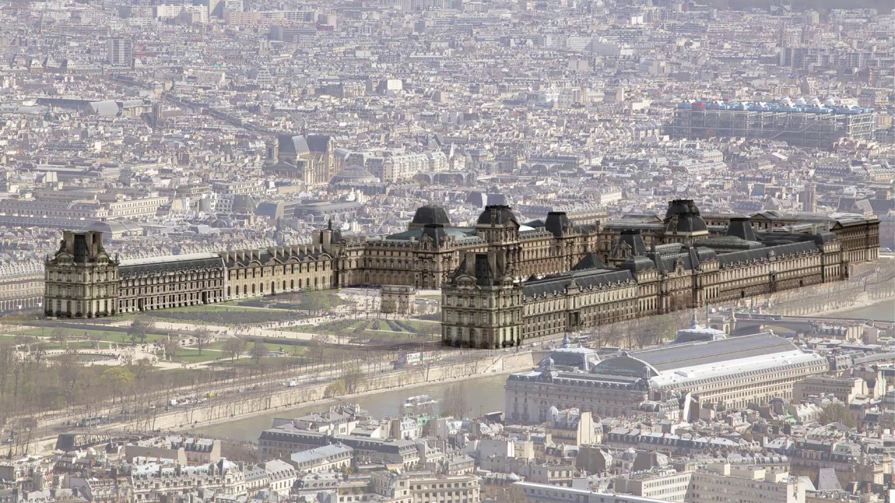 The Louvre 800 Years Of History Youtube