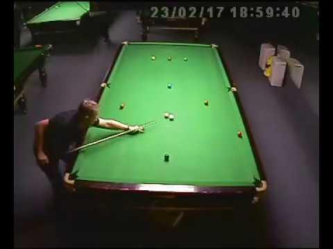Singapore snooker coach Stefan Mazrocis 147 break