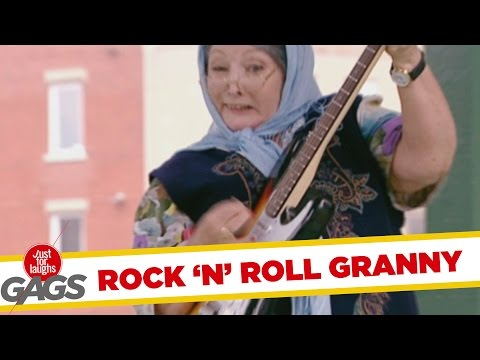 Granny Turns Rockstar - Throwback Thursday