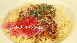 Спагети Болонезе - автентичната рецепта с кайма, домати и вино.