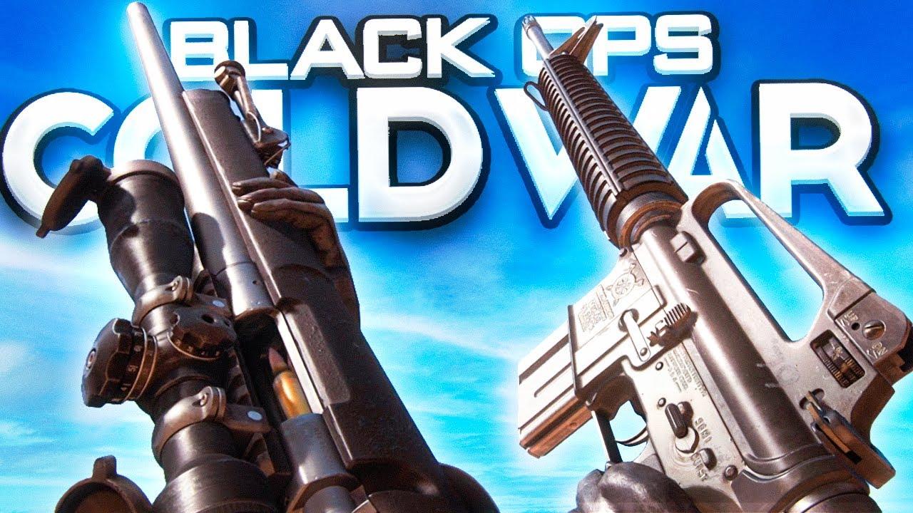 TODAS LAS ARMAS DE CALL OF DUTY BLACK OPS COLD WAR