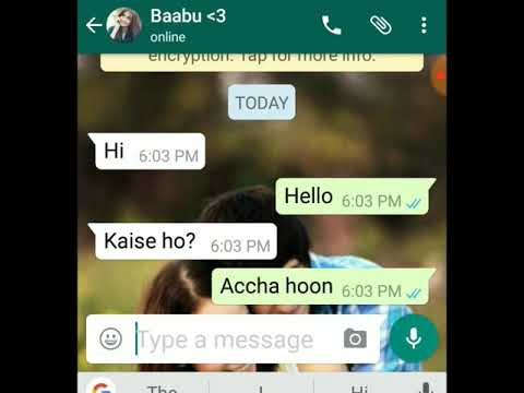 After breakup conversation And then again friends..romantic story