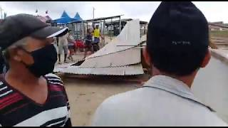 Romero Rodrigues determina demolição de barracas de comerciantes no Acácio e revolta comunidade