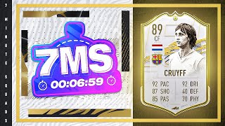 Barcelona Base Icon Cruyff!!! FIFA 21 7MS Squad builder w/ @Jack54HD