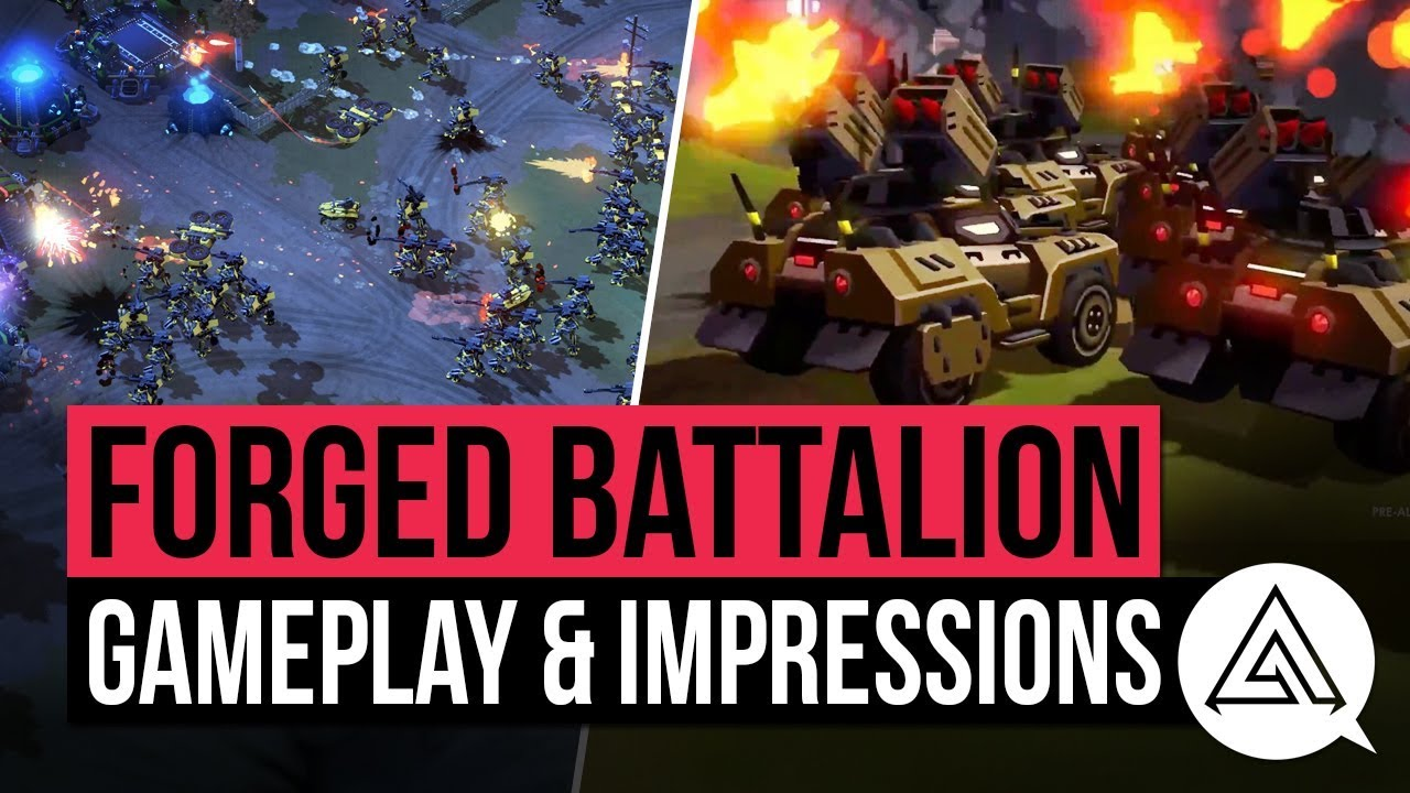 Download Forged Battalion Gameplay & Impressions   New RTS 2018