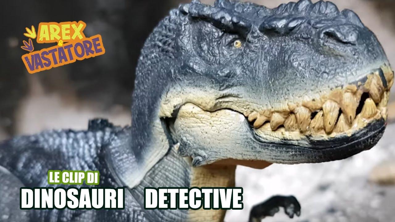 Un misterioso Predatore Alato [Clip Dinosauri Detective 🕵️]