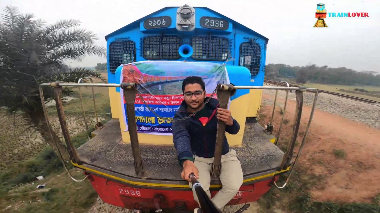 Infront of a Train || LOCOMOTIVE Ride  capture by Gopro Camera