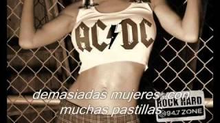 AC-DC - Shoot to thrill (sub español) (by HeavyMetalAndRock.com)
