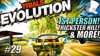 Hatventures - Trials Evolution #29 - First Person! Trickster Hill! extreme 1 djparis!