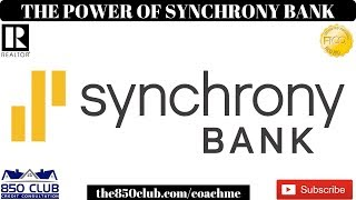 The Power Of Synchrony Financial Bank & Your Relationship With Them - Amazon,Google,Paypal