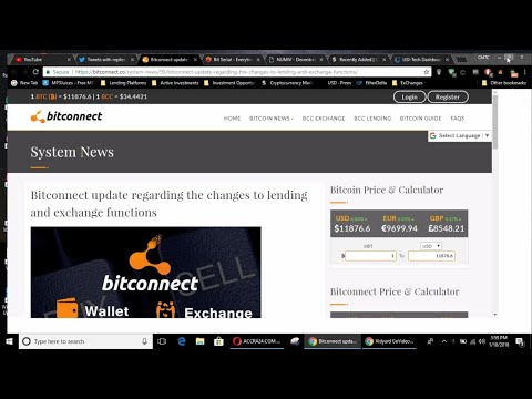Hyip Update***BitConnect, Usi Tech Bitserial and Numiv coin