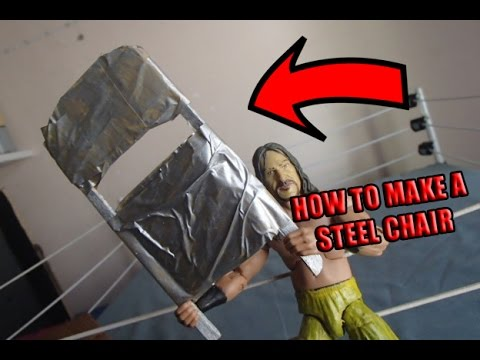 How To Make A STEEL CHAIR For WWE Figures