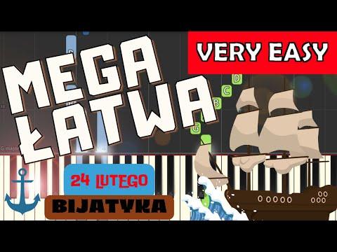 🎹 24 lutego (Bijatyka) - Piano Tutorial (MEGA ŁATWA wersja) 🎹