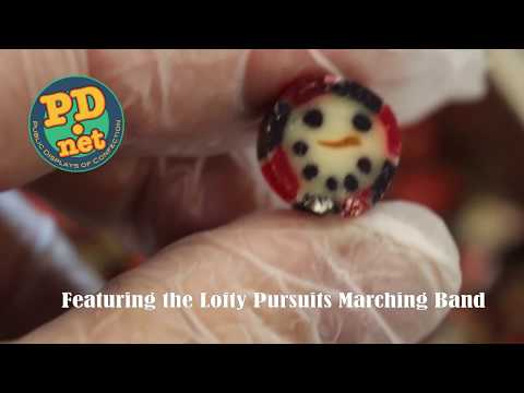 #69 The Making of Christmas Snowmen Hard Candy by Lofty Pursuits