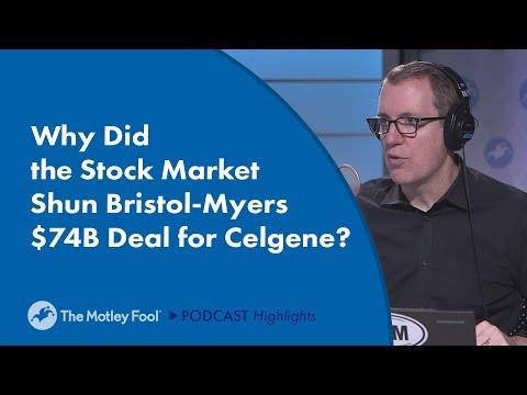 Why Did The Stock Market Shun Bristol-Myers $74B Deal For Celgene?