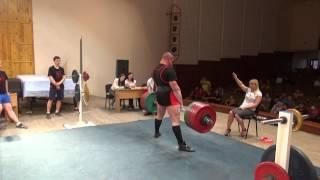 Становая тяга - 330 и 352,5 кг