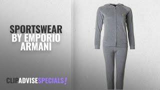 Top 10 Emporio Armani Sportswear [2018]: Emporio Armani Velour Hooded Logo Tracksuit