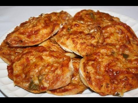 Recette facile des pizza rolls pour l 39 ap ritif doovi - Herve cuisine hamburger ...