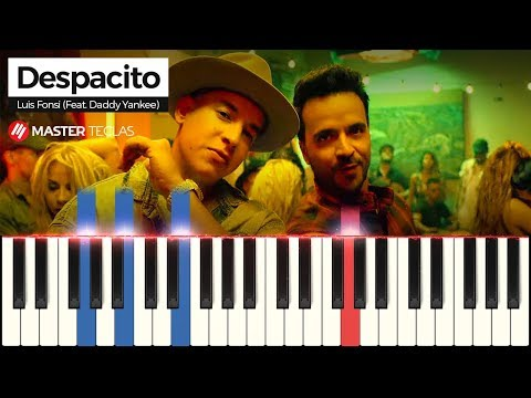 💎 Despacito - Luis Fonsi Feat Daddy Yankee  Piano Tutorial 💎