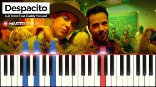 Despacito Luis Fonsi Feat Daddy Yankee Piano Tutorial
