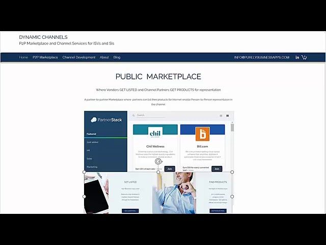 P2P Marketplace for Dynamics
