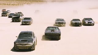 FAST and FURIOUS 4 - Kidnapping Braga (Charger & STi vs Grand Torino & ARMY) #1080HD