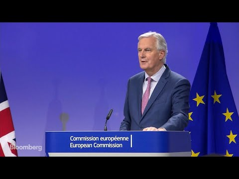 EU's Barnier Says U.K. Transition Deal and Large Part of Exit Treaty Agreed
